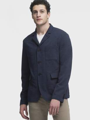 DKNY Knit 3-Button Blazer