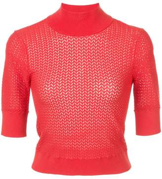 Alice + Olivia Alice+Olivia Lanie knitted top