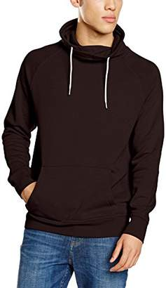 New Look Men's Basic Crew Funnel Hoodie