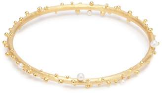 Belinda Chang 'First Frost' freshwater pearl bangle