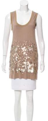Givenchy Sleeveless Sequined Top