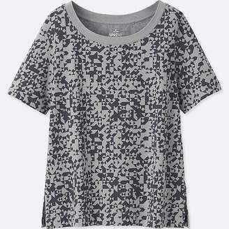 Uniqlo Women's Sprz Ny Short-sleeve Graphic T-Shirt (francois Morellet)