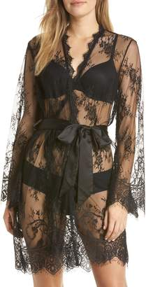 ANN SUMMERS Saria Sheer Lace Robe