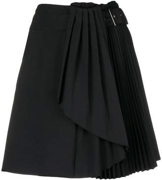 Alberta Ferretti (アルベルタ フェレッティ) - Alberta Ferretti pleated detail skirt