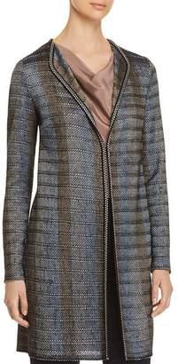 St. John Ribbon Knit Duster Jacket
