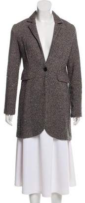 Amina Rubinacci Wool Knit Coat