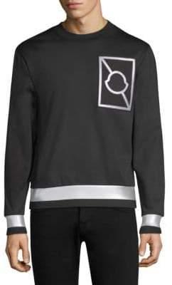 Moncler Reflective Logo Sweatshirt