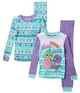 SGI Apparel Hatchimals Cotton PJs - Set of 2 (Little Girls & Big Girls)