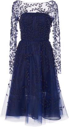 Oscar de la Renta Embellished Tulle Dress $7,290 thestylecure.com