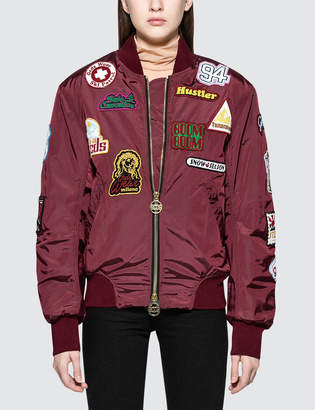 Gcds Patch Bomber Jacket