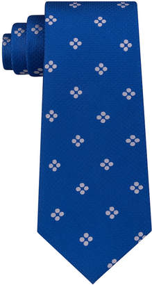 Sean John Men's Grid Dot Silk Tie