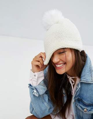 Alice Hannah Chunky Knit Beanie Hat