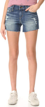 "Joe's Jeans Ozzie 4"" Cutoff Shorts $98 thestylecure.com"