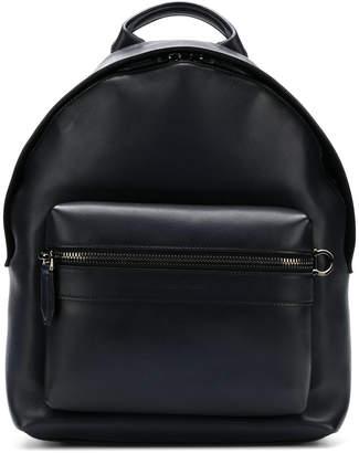 Salvatore Ferragamo worn-effect backpack