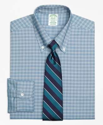 Brooks Brothers Original Polo Button-Down Oxford Milano Slim-Fit Dress Shirt, Ground Twin Check