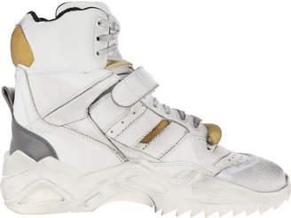 Maison Margiela Retro Fit High Top Sneakers