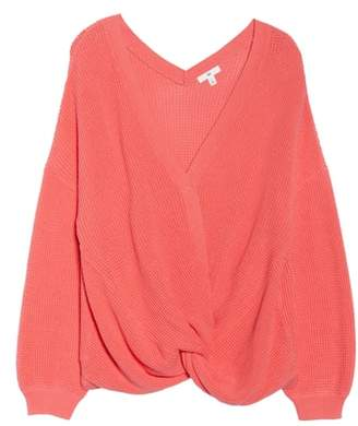 BP Twist Front Sweater
