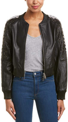 Doma Embroidered Bomber Jacket