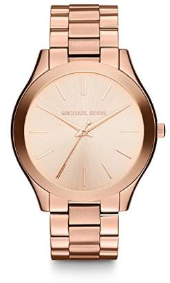 Michael Kors Women's Mini Slim Runway -Tone Watch MK3513