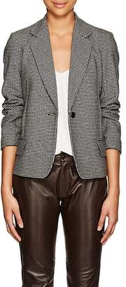 Nili Lotan Women's Humphrey Glen Plaid Wool-Blend Single-Button Blazer