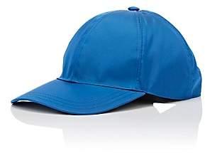 Prada Women's Logo Twill Baseball Cap-Blue