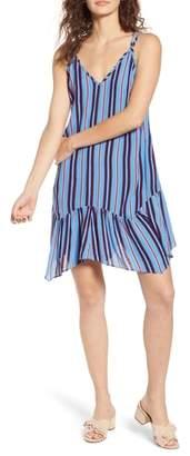Band of Gypsies Selena Handkerchief Hem Slip Dress
