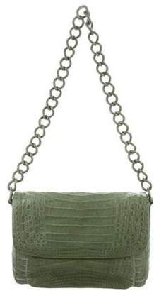 Nancy Gonzalez Crocodile Chain Messenger Bag