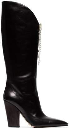 Magda Butrym black holland 90 leather boots