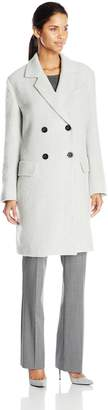 J.o.a. Women's Double Breasted Coat