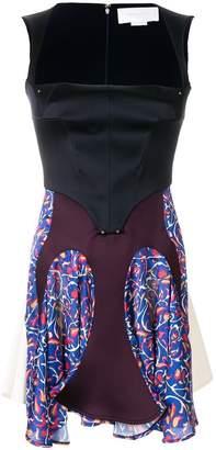 Esteban Cortazar patterned corset dress