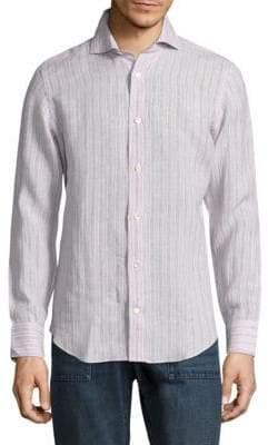 Eleventy Regular-Fit Button-Down Shirt