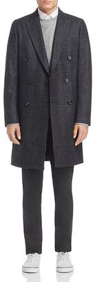 Paul Smith Double-Breasted Plaid Overcoat