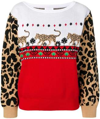 Hayley Menzies knitted sweatshirt