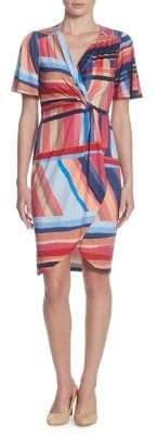 Catherine Malandrino Nyla Short-Sleeve Sheath Dress