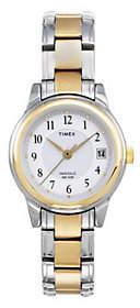 Timex Women's Classic Dress Watch with Two-toneBracelet