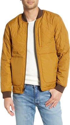 Jeremiah Hedges Quilted Bomber Jacket