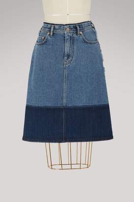 Acne Studios Halona cotton skirt