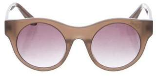 Elizabeth and James Gradient Round Sunglasses