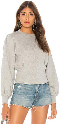 L'Academie The Yasmin Fleece Pullover