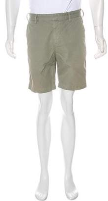Save Khaki Flat Front Shorts