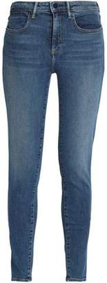 Alexander Wang Faded Mid-Rise Skinny Jeans