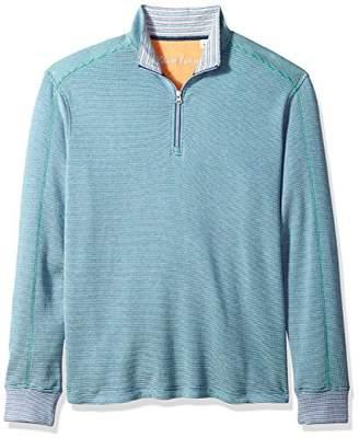 Robert Graham Men's Easy Rider Cotton 1/4 Zip Knit