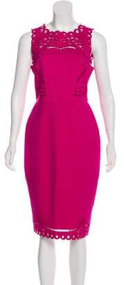 Ted Baker Verita Laser-Cut Bodycon Dress