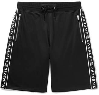 Givenchy Logo-Jacquard Tech-Jersey Drawstring Shorts