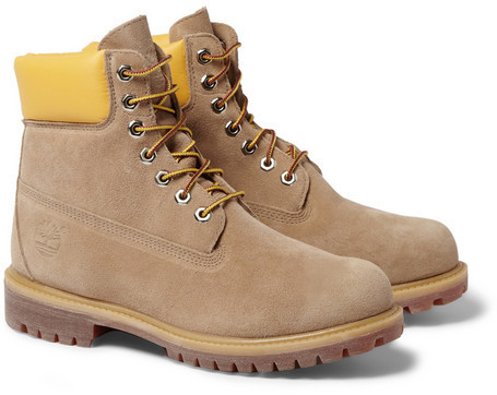 Mark McNairy Timberland Chunky-Sole Suede Boots