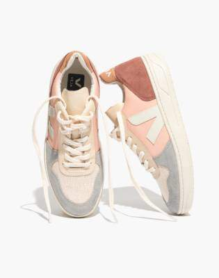 Madewell Veja V-10 Sneakers in Colorblock