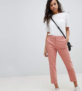Asos Tailored Linen Cigarette Pants