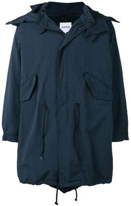 Aspesi oversized parka coat