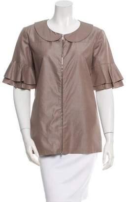 Marni Short Sleeve Zipped Jacket
