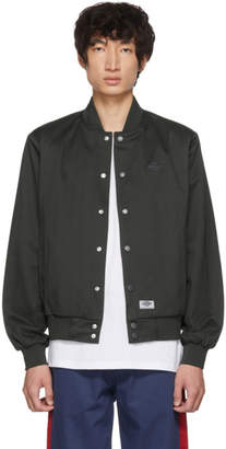 Dickies Construct Black Academy Bomber Jacket
